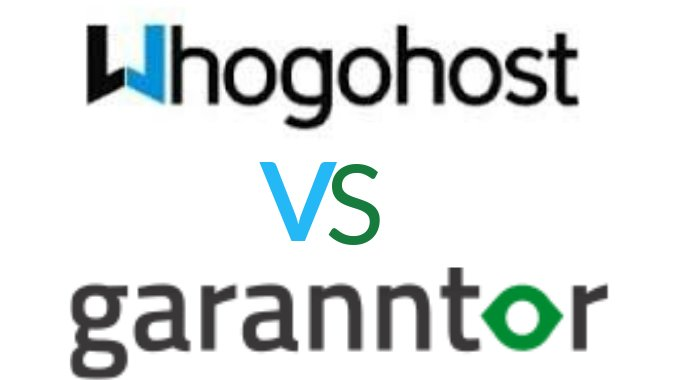 Whogohost Vs Garanntor Review (2017): Web Hosting Comparison